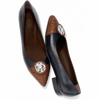London Groove Ebony Ballerina Flat