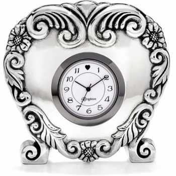 Scroll Heart Clock