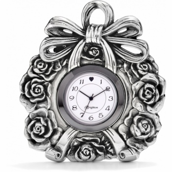 Ribbon & Roses Clock