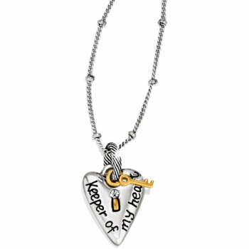 Sentiments Love Key Necklace