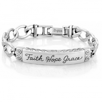 ID Bracelets Faith Hope Grace ID Bracelet