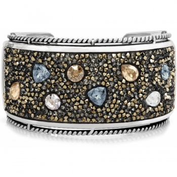 Crystal Rocks Dreams Hinged Bangle