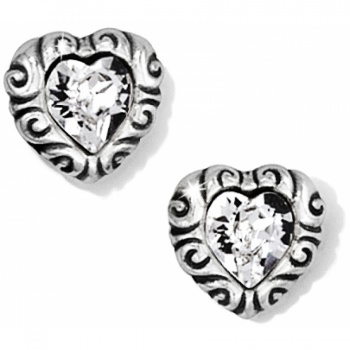 Regina Regina Heart Post Earrings