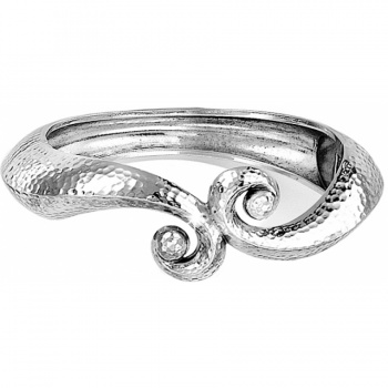 Genoa Scroll Hinged Bangle