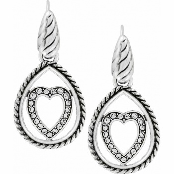 Courageous Heart French Wire Earrings