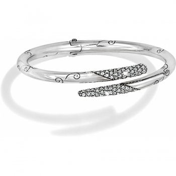 Cristalina Hinged Bangle