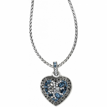 Crystal Voyage Heart Necklace