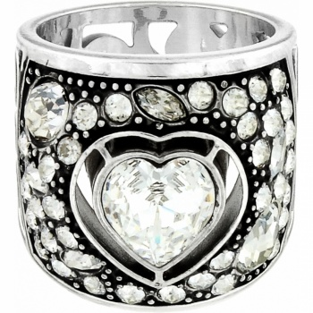 Intertwine Ecstatic Heart Ring