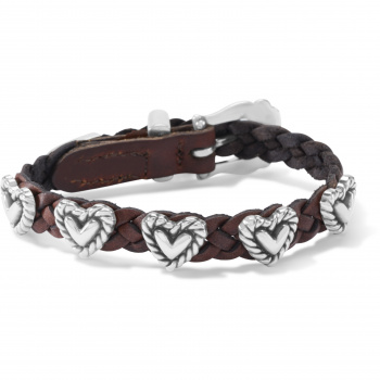 Roped Heart Braid Bandit Bracelet