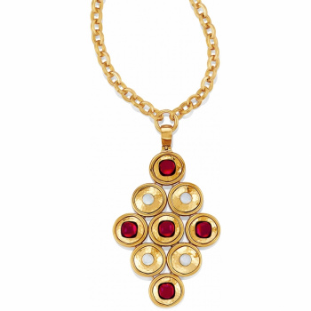 Versailles Versailles Burgundy Necklace