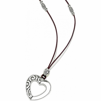 Barbados Barbados Heart Long Necklace