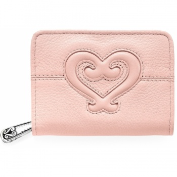 Genoa Heart Card Case w/Fob Ring