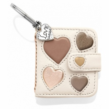 Hearts Galore Photo Key Fob