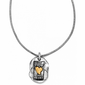 Living Heart Necklace
