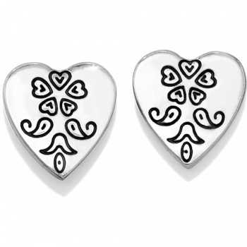 Ophelia Heart Mini Post Earrings