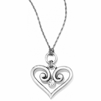 Alcazar Alcazar Heart Convertible Necklace