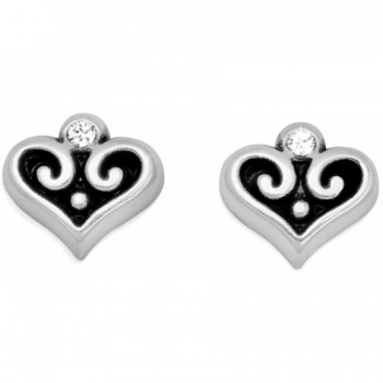 Alcazar Alcazar Heart Mini Post Earrings