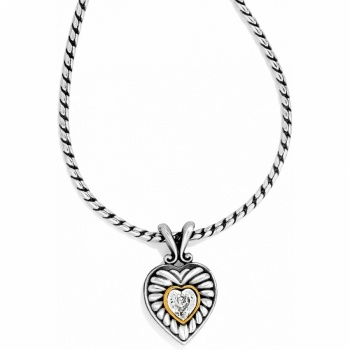 Heiress Crystal Heiress Heart Necklace