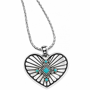 Indie Concho Heart Necklace