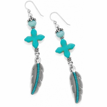 Loretto Feather French Wire Earrings