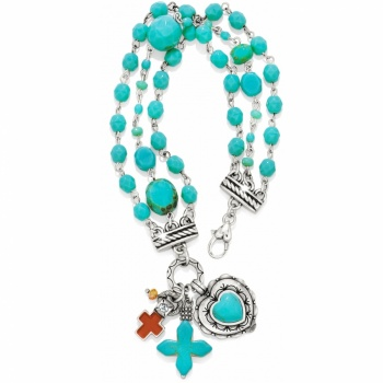 Loretto Cross Loretto Heart Bracelet