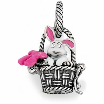 Brighton Treasures Bunny Basket Charm