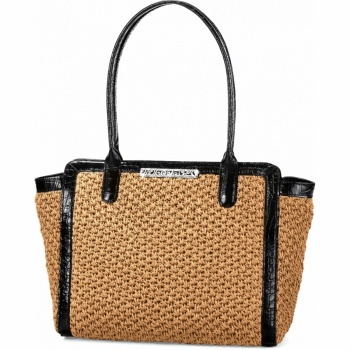 Mingle Monette Large Straw Tote