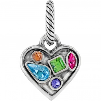 Colorful Heart charms Colorful Heart Charm