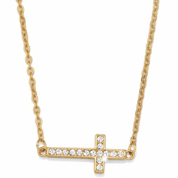 Starry Night Cross Necklace
