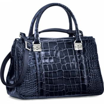 Mingle Emerson Croco Tote