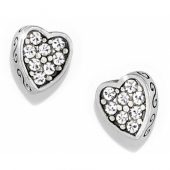 Starry Night Heart Starry Night Heart Mini Post Earrings