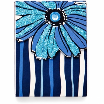 Daisy Bleu Pocket Notepad