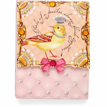 Birds Of A Feather Pocket Notepad