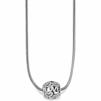 Full Of Love Long Charm Necklace