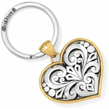 Roccoco Heart Key Fob