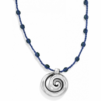 Karma Petite Scroll Necklace