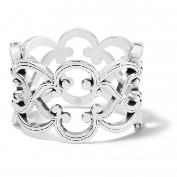 Toledo Wide Hinged Bangle