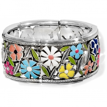 Painted Garden Stretch Bracelet