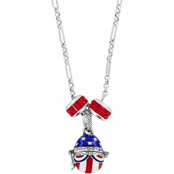 Patriotic Long Necklace