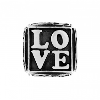 Message Cube beads Love Cube Bead