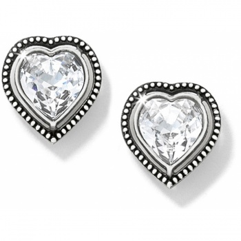 Ecstatic Heart Post Earrings