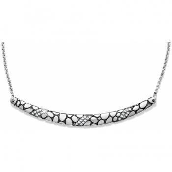 Pebble Ice Collar Necklace