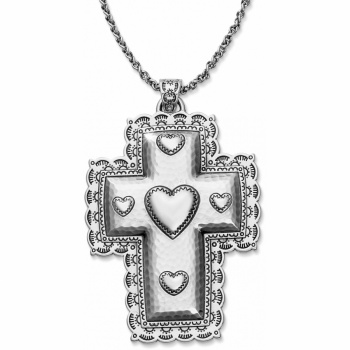 Passion Heart Cross Convertible Necklace