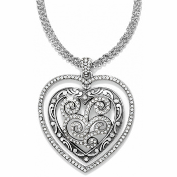 Shiraz Heart Convertible Long Necklace