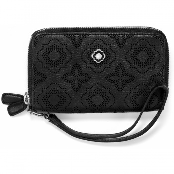 Octavia Perf Double Zip Tech Wallet
