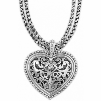Monte Cristo Heart Convertible Long Necklace