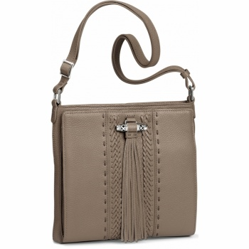 Amaya Amaya Tassel Cross Body Organizer Bag