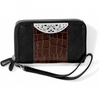 Roccoco Roccoco Double Zip Tech Wallet