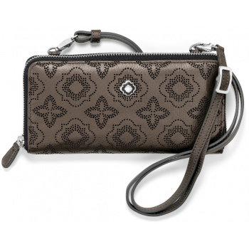 Octavia Perforated Octavia Perf Large Zip Wallet