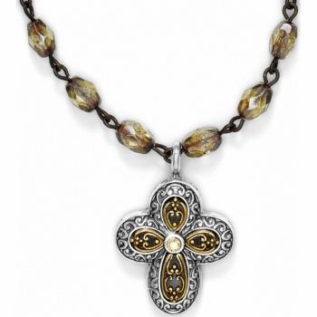 Via Delorosa Cross Necklace